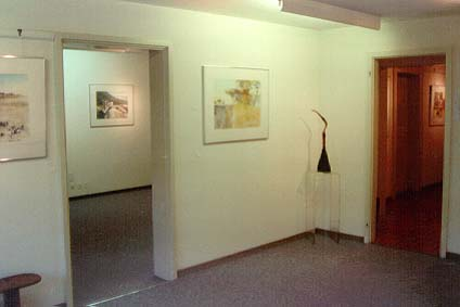 Gallery Artimex Fine Arts, Basel - 1997-1998 - partial view