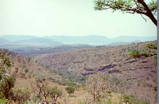 View from the original PELMAMA site, overlooking the Hartebeespoortdam north of Johannesburg, west of Pretoria